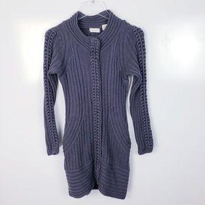 Anthropologie Sleeping On Snow Tunic Sweater